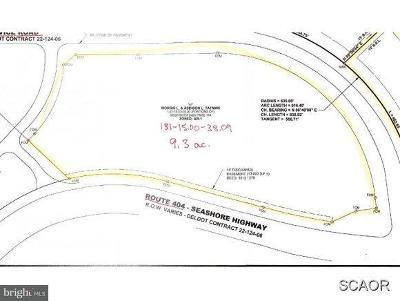 Bridgeville Residential Lots & Land For Sale: East Service Rd & Rt 404