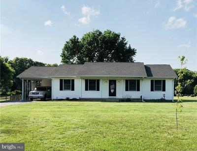 Hartly Single Family Home Under Contract: 2339 Halltown Road