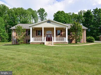 Culpeper County Single Family Home For Sale: 15224 Waterloo Road