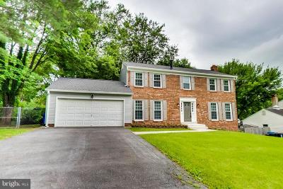 Brookeville Single Family Home For Sale: 2900 Gold Mine Road