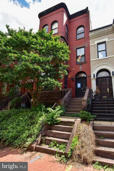 Washington Townhouse For Sale: 1325 21st Street NW