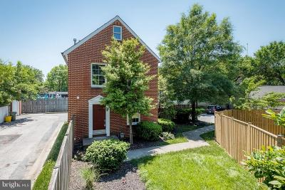 Baltimore Single Family Home For Sale: 223 Hill Street W