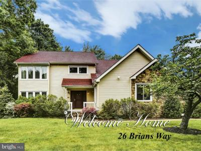 West Windsor Single Family Home For Sale: 26 Brians Way