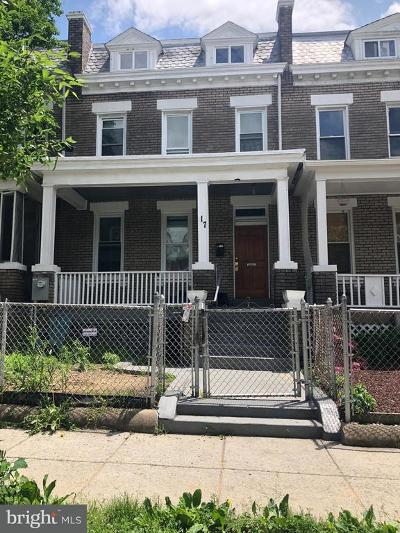 Washington Townhouse For Sale: 17 Girard Street NE