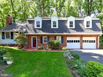 Fairfax County Single Family Home For Sale: 3609 Launcelot Way