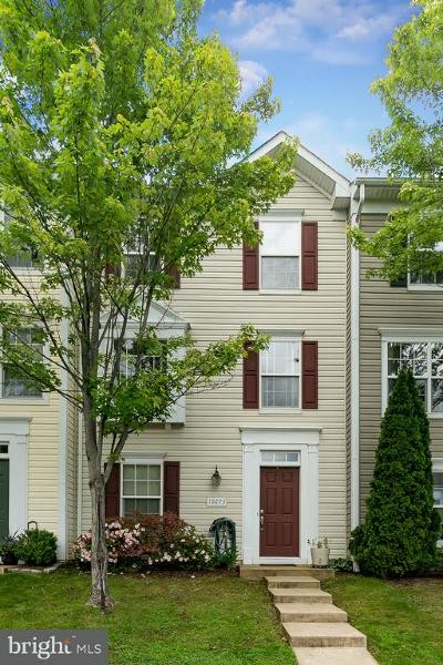 Manassas Townhouse For Sale: 10293 Butternut Circle