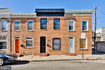 Baltimore Townhouse For Sale: 904 Curley Street S