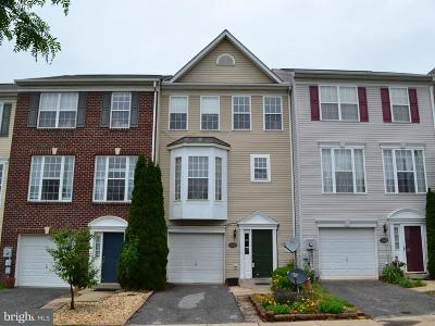 Frederick Townhouse For Sale: 2409 Huntwood Court