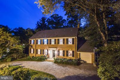 Spring Valley Single Family Home For Sale: 5145 Tilden Street NW