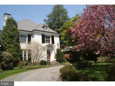 Chestnut Hill Single Family Home For Sale: 411 E Willow Grove Avenue