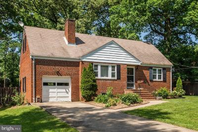 Fairfax County Single Family Home For Sale: 9122 Arlington Boulevard