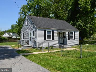 Oxon Hill MD Single Family Home For Sale: $223,950