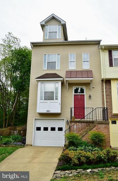 Fredericksburg Townhouse For Sale: 301 Shaw Court