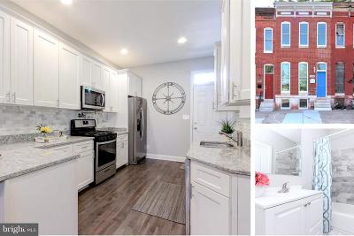 Baltimore Townhouse For Sale: 1418 Broadway N