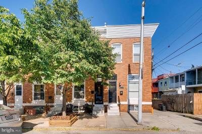 Baltimore Townhouse For Sale: 819 Eaton Street S