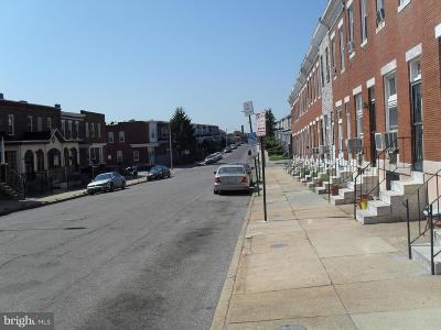 Baltimore Townhouse For Sale: 1728 Smallwood Street N