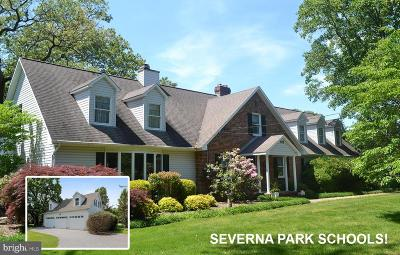 Millersville Single Family Home For Sale: 182 Pasadena Road