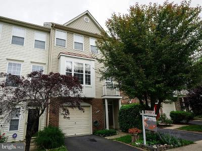 Centreville, Clifton Townhouse For Sale: 6328 James Harris Way