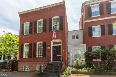 Georgetown Single Family Home For Sale: 3258 O Street NW