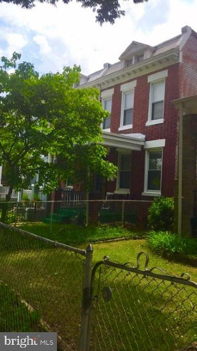 Single Family Home For Sale: 5218 Illinois Avenue NW