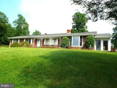 Rappahannock County Single Family Home For Sale: 436 Castleton View Road