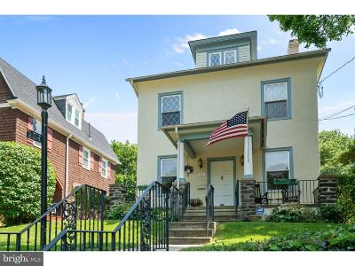 Jenkintown Single Family Home For Sale: 204 Hillside Avenue