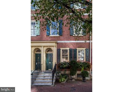 Society Hill Townhouse For Sale: 608 Spruce Street