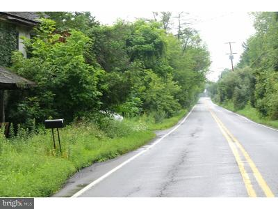 Bucks County Residential Lots & Land For Sale: 4814 Durham Road