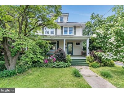 Hightstown Single Family Home For Sale: 419 Stockton Street
