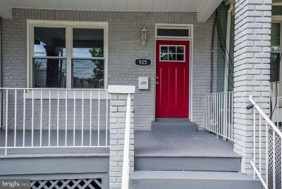 Townhouse For Sale: 925 Decatur Street NW