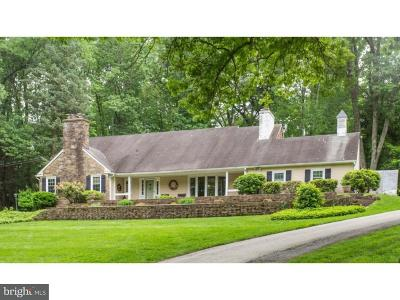 Newtown Square Single Family Home For Sale: 50 Paper Mill Lane