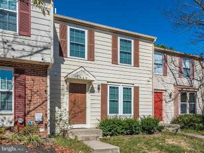 Burtonsville Townhouse For Sale: 3610 Van Horn Way