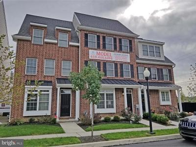 Kennett Square Townhouse Under Contract: Lot 2 D Street
