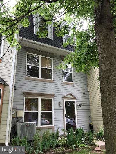Silver Spring Townhouse For Sale: 1736 Wilcox Lane