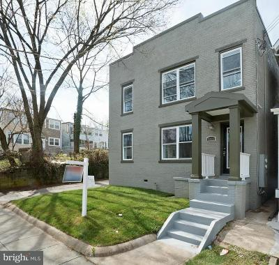Washington Single Family Home For Sale: 5614 7th Street NW #1