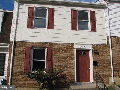 Fort Washington Rental For Rent: 2810 Wood Hollow Place #5