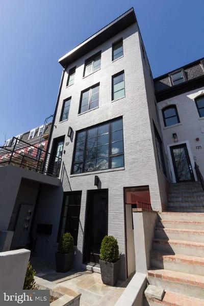 Shaw Townhouse For Sale: 727 Euclid Street NW #UNIT B
