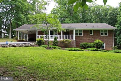 Single Family Home For Sale: 9764 Courthouse Road