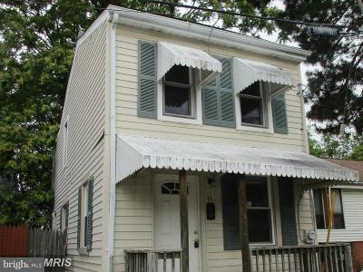 Annapolis Single Family Home For Sale: 71 Pleasant Street