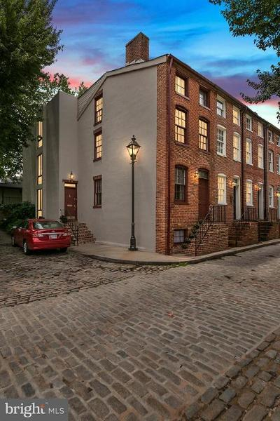 Baltimore City Townhouse For Sale: 111 Welcome Alley