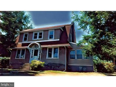 Ridley Park Single Family Home For Sale: 201 Riverview Avenue