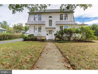 Merion Station Single Family Home For Sale: 223 Valley Road