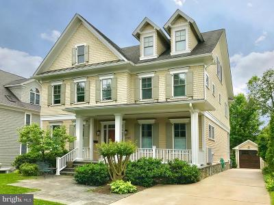 Chevy Chase Single Family Home For Sale: 4406 Walsh Street