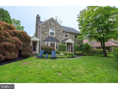 Merion Station Single Family Home For Sale: 287 N Bowman Avenue