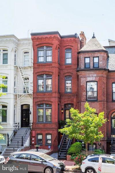 Dupont Townhouse For Sale: 2022 N Street NW