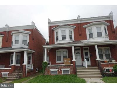 Norristown Single Family Home For Sale: 1327 Locust Street