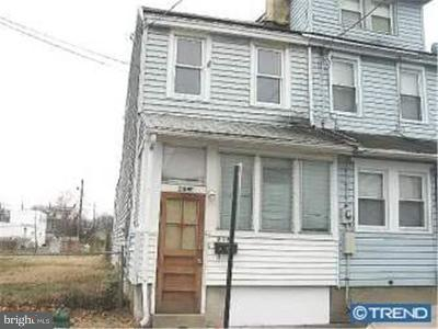 Gloucester City Single Family Home For Sale: 218 Cumberland Street