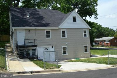 Capitol Heights Rental For Rent: 4609 Heath Street