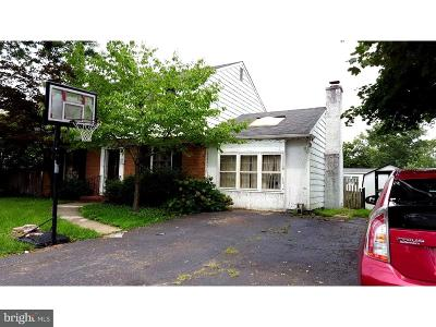 Cherry Hill Single Family Home For Sale: 3405 Church Road