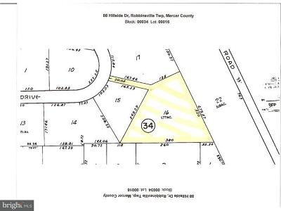 Robbinsville Residential Lots & Land For Sale: 88 Hillside Drive